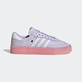 Adidas Sambarose W [EF4966] 女鞋 運動 休閒 慢跑 經典 增高 厚底 舒適 愛迪達 紫粉