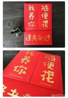 【創意新奇燙金紅包袋】一入 過年 拜年 壓歲錢 創意 搞笑 紅包袋 婚禮/過年/年終獎金/禮金袋