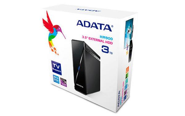 【台中平價鋪】全新 ADATA 威剛 HM900 3TB 3T 3.5吋 USB 3.0 外接式硬碟 保固三年