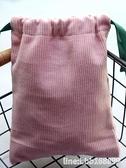 精油收納包 少女心手提折疊抽拉繩包束口袋手機零錢包小錢包便攜精油收納包袋包 瑪麗蘇