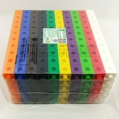 【台灣製USL遊思樂】多向連接方塊(2cm,10色,500pcs)-正方形 / 袋 ※超取限購2包