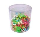 《享亮商城》Q09708 塑膠彩色卡片環 1/2``-200入