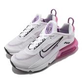 Nike 休閒鞋 Air Max 2090 GS 白 粉紅 女鞋 大童鞋 氣墊 半透明鞋面設計 運動鞋 【PUMP306】 CJ4066-003