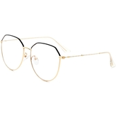 眼鏡女韓版潮復古原宿風多邊形素顏圓臉眼睛框鏡架