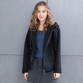 【中大尺碼】MIT新潮太空棉帽外套