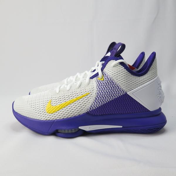 Nike LEBRON WITNESS IV 籃球鞋 CD0188100 男款 白紫 大尺碼【iSport愛運動】