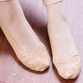 襪子 滿版蕾絲隱形襪-Ruby s露比午茶