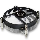 大鐮刀 S950M 銅芯超薄溫控CPU散熱器1150 1151 1155 1156CPU風扇 9號潮人館