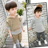 黑五好物節 童裝男童秋裝套裝兒童潮衣2018新款韓版3-4-5歲6寶寶帥氣三件套春 森活雜貨