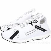 Y-3 Reberu 刺繡標誌彈性面料襪套運動鞋(男款/白色) 1920527-20
