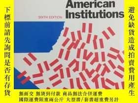 二手書博民逛書店Crisis罕見in American Institutions