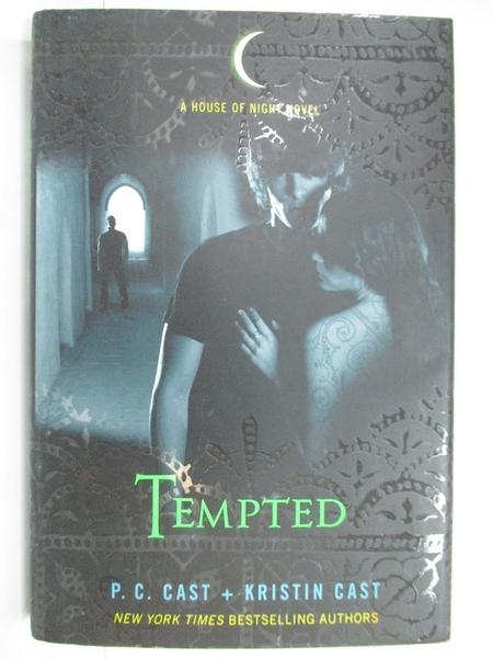 【書寶二手書T1/一般小說_G3G】Tempted: A House of Night Novel_Cast, P. C./ Cast, Kristin