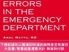 二手書博民逛書店Avoiding罕見Common Errors in the Emergency Department急診科如何避