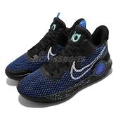 Nike 籃球鞋 KD Trey 5 IX EP 9代 杜蘭特 子系列 黑 藍 男鞋 【ACS】 CW3402-007