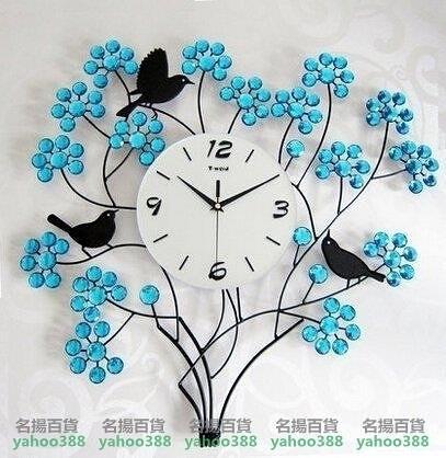 W百貨天偉達時鍾石英鐘餐廳藝術時鐘錶掛鐘客廳現代創意靜音大掛錶MY~419