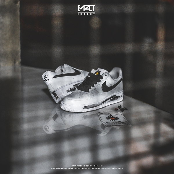IMPACT Nike Air Force 1 G-Dragon Peaceminusone GD DD3223-100