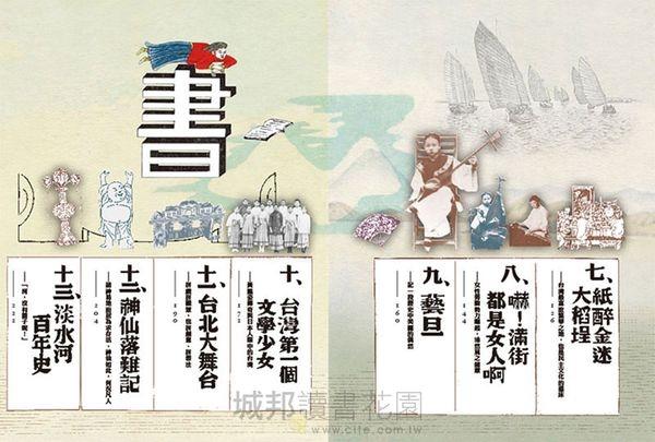 百年不退流行的台北文青生活案內帖(附手繪三市街實戰地圖)