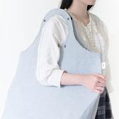 Gudee- BUTTERFLY II 洗衣籃布套 (亞麻藍)