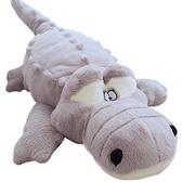 鱷魚毛絨玩具超大公仔可愛玩偶睡覺抱枕長條枕巨型娃娃床上女生 西城故事