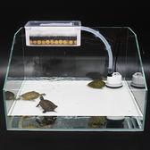 烏龜缸過濾器魚缸靜音過濾盒低水位除臭凈水上濾盒抽水泵淺水上置   極有家