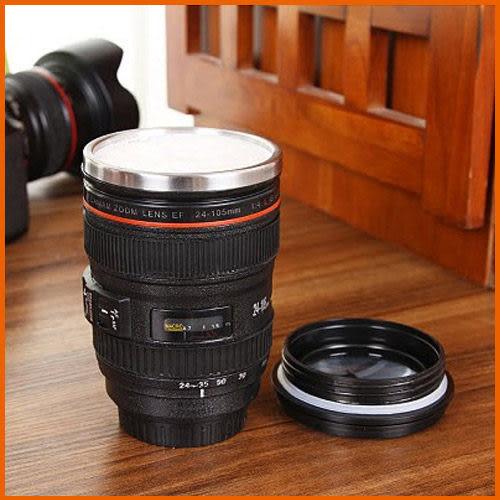 【Love Shop】創意單眼相機鏡頭不銹鋼杯400ml/隨行杯/咖啡杯/馬克杯可參考