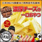 日本 OHGIYA 扇屋 鱈魚 起司條 乳酪條  DHA 添加原味 (48入) 甘仔店3C配件