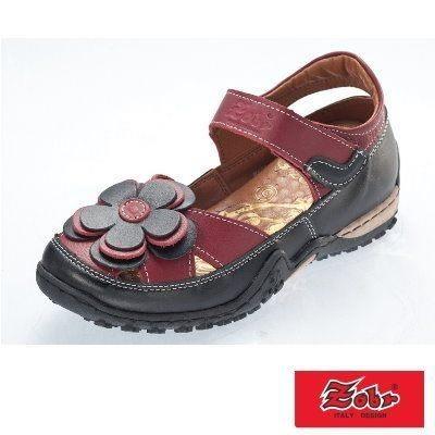 【南紡購物中心】ZOBR路豹 真皮休閒娃娃鞋涼鞋款 BA38系列