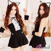 情趣內睡衣 -蘿莉小貓女 性感貓女 制服 情趣角色服 cosplay