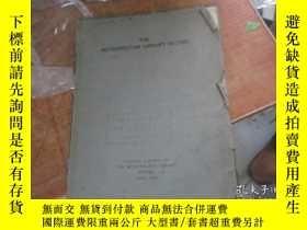 二手書博民逛書店the罕見metropolitan library record 1Y11818 the metropolit