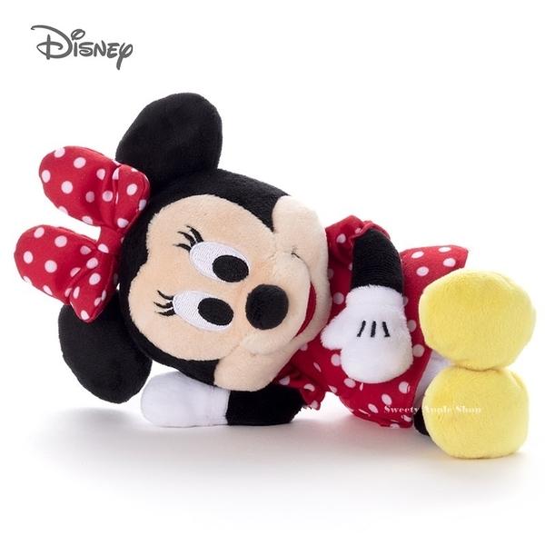 日本限定 迪士尼 米妮 2way 側身玩偶娃娃