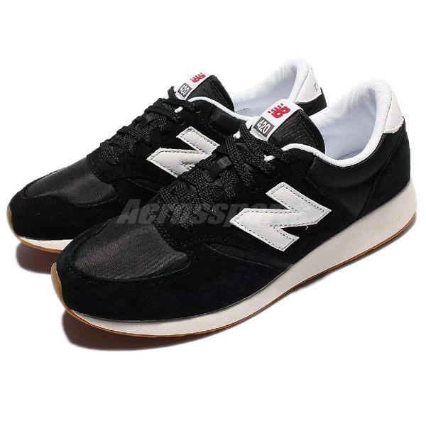 New Balance 復古慢跑鞋 NB 420 黑 白 休閒鞋 麂皮 基本款 男鞋 女鞋【PUMP306】 MRL420SDD