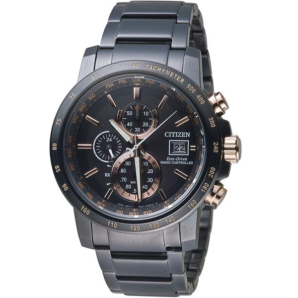 星辰CITIZEN GET'S系列代言人廣告款電波腕錶     AT8127-85F