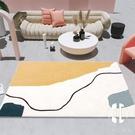 北歐客廳地毯現代簡約抽象地毯臥室可愛網紅地毯墊民宿地毯可定制【Kacey Devlin】