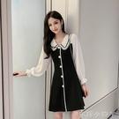 2020春秋新款氣質潮流行法式小眾連衣裙子初秋收腰顯瘦中長裙洋氣 蘿莉新品