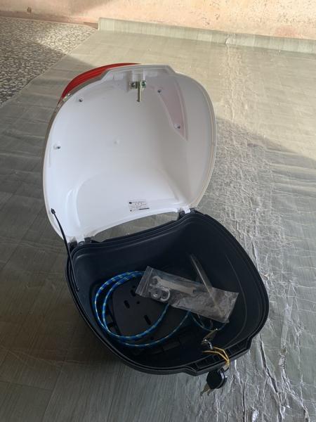 摩托車尾箱電瓶車後備箱手提箱快拆式尾箱儲物箱(40*25*30/@222-8430)