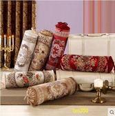 幸福密碼歐式多功能糖果枕沙發抱枕加大時尚民族風圓柱形靠墊  小號