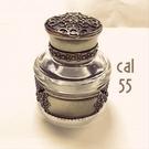 義大利 Bortoletti CAL55 Inkwell 白銅 鋼筆用黑色 墨水瓶 21501167351541 /  個