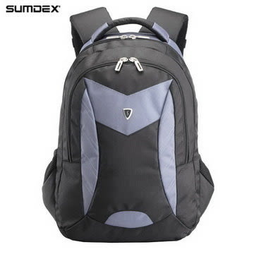 【SUMDEX】PON-366GY X-sac 尖峰背包15.6吋(閃電灰)