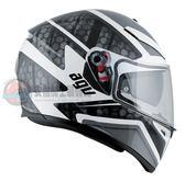 [中壢安信]義大利 AGV K-3 SV K3 SV K3SV PULSE 白黑灰 全罩 安全帽 送涼感頭套