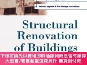 二手書博民逛書店Structural罕見Renovation Of Buildings: Methods Details & De