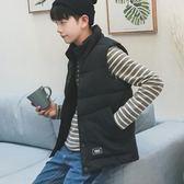 (交換禮物)新款羽絨棉馬甲男秋冬季情侶韓版修身加厚保暖立領坎肩背心外套潮