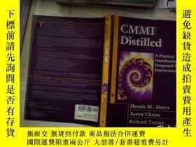 二手書博民逛書店CMMI罕見Distilled蒸餾Y261116