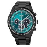 SEIKO Criteria時尚率性太陽能計時腕錶/V175-0DK0L/SSC475P1