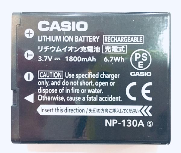 全新【密封包裝】卡西歐 CASIO NP-130A 原廠鋰電池 ZR3500 ZR1500 ZR1200