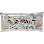 Marimo 蠟筆小新30周年系列 透明防水扣式收納包 睡衣_FT41925