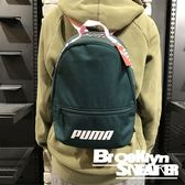 PUMA 綠 粉 Logo 小包  後背包 (布魯克林) 2019/1月 07571303