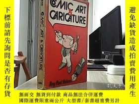 二手書博民逛書店COMIC罕見ART & CARICATURE(漫畫藝術與漫畫)Y17220 出版1978