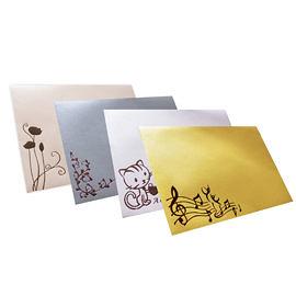 Dr.Paper 120gsm珠光紙空白信封袋-10款 2入/包