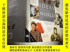 二手書博民逛書店ideas罕見that shaped our world 塑造我