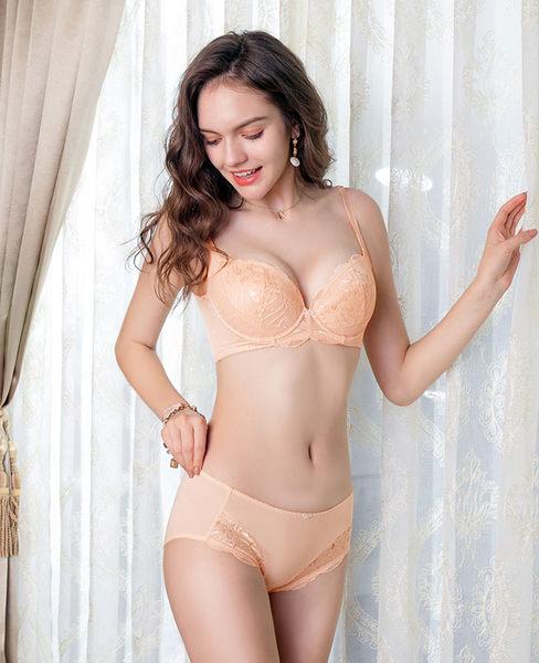 EASY SHOP-愛戀情深 大罩杯C-F罩內衣(清恬橙)